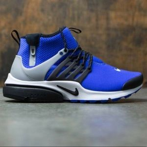 Nike Air Presto Mid Utility In Paramount Blue